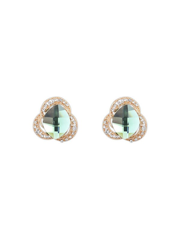 Occident Three Flowers Bohemia Customs Stud Hot Sale Earrings