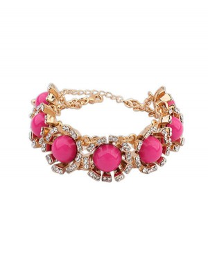 Occident New Street Shooting Collision Color Bracelets