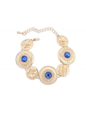 Occident Fashionable Popular Round Plate Bracelets
