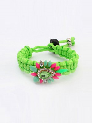 Occident Ethnic Customs Woven Colorful Bracelets