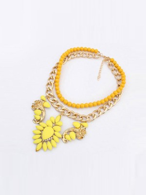 Occident New Trendy Street Shooting Necklace