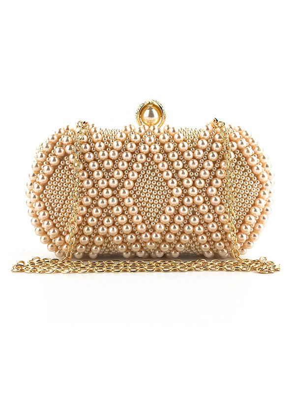 Graceful Evening/Party Handbags With Pearl