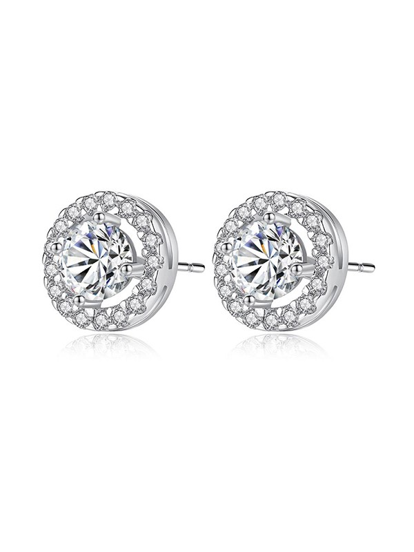 Women's Elegant Zircon With Cubic Zirconia Earrings