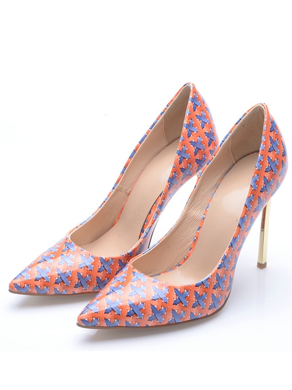 Women's Closed Toe Stiletto Heel High Heels