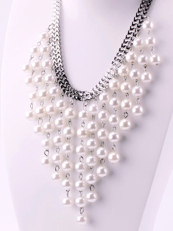 Hot Sale Luxurious Pearl Necklaces For Ladies